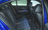 BMW 3 Series 320d 2019 UK first drive review - rear seats