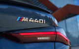 BMW 4 Series 2020 first drive review - rear badge