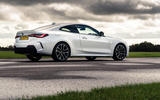 BMW 4 Series 420d 2020 UK first drive review - static rear