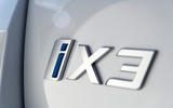 BMW iX3 2020 first drive review - rear badge