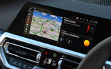 BMW 3 Series Touring M340i 2020 UK first drive review - infotainment