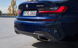 BMW M340i xDrive 2019 first drive review - exhausts