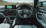 BMW M5 2018 long-term review dashboard