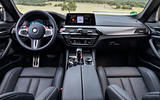 BMW M5 Competition 2018 first drive review cabin
