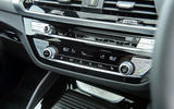 BMW X4 2018 UK first drive review climate control