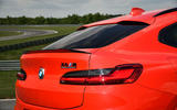 BMW X4 M Competition 2019 first drive review - rear lights