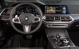 BMW X5 xDrive 45e 2019 UK first drive review - steering wheel
