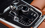 BMW X7 M50i 2020 first drive review - centre console