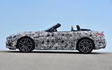 BMW Z4 prototype drive 2018 roof down
