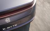 Byton K-Byte saloon concept rear lights