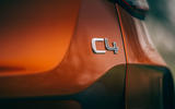 Citroen C4 Puretech 2021 UK (LHD) first drive review - rear badge