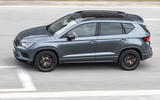 Cupra Ateca 2018 prototype first drive review track side