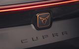 7 Cupra Formentor VZ2 2021 UK first drive rear badge
