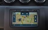 Dacia Duster Bi-Fuel 2020 UK first drive review - infotainment