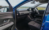 7 Dacia Sandero BiFuel 2021 UK first drive cabin