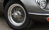 7 E Type Unleashed V12 2021 UK First drive review alloy wheels