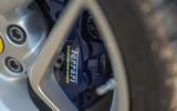Ferrari F8 Tributo Spider 2020 UK first drive review - brake calipers