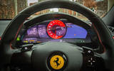 Ferrari Roma 2021 UK first drive review - instruments