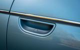 2021 Fiat 500 electric left-hand drive UK review - door handles