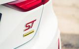 7 Ford Fiesta ST Mountune m260 2021 UK FD rear badge