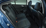 Ford Focus 1.0 Titanium X 2018 UK first drive review rear seats