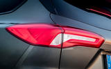 Ford Focus ST estate EcoBlue 2019 first drive review - rear lights