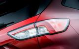 7 Ford Kuga FHEV 2021 UK FD rear lights