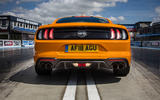 Ford Mustang GT 5.0 2018 UK review rear end