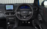Ford Puma ST Line X 2020 UK first drive review - dashboard
