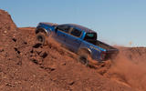 Ford Ranger Raptor 2018 first drive review side offroad