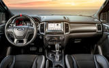 Ford Ranger Raptor 2019 first drive review - cabin