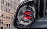 Honda e 2020 UK first drive review - rear lights