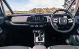 Honda Jazz Crosstar 2020 UK first drive review - dashboard