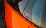 Honda NSX 2019 UK first drive review - wing details