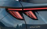 7 Hydundai Tucson PHEV 2021 UK FD rear lights