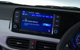 Hyundai i10 2020 UK first drive review - infotainment