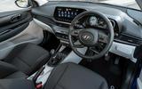 Hyundai i20 2020 UK first drive review - cabin