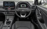 Hyundai i30 2020 UK first drive review - dashboard