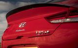 Hyundai i30 Fastback N 2019 UK first drive review - bootlid