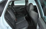 Hyundai i30 N 2018 UK review rear seats