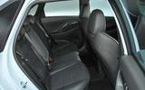 Hyundai i30 N 2018 UK review rear seats