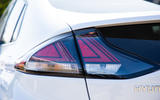 Hyundai Ioniq Electric 2019 first drive review - rear lights