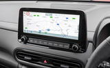 7 Hyundai Kona 1.6 hybrid 2021 UK first drive review infotainment