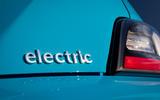 7 Hyundai Kona Electric 2021 UK first drive review electric badge