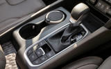 Hyundai Santa Fe 2018 UK first drive review - centre console