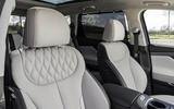 7 Hyundai Santa fe 2021 UK first drive review front seats