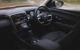 7 Hyundai Tucson MHEV 2021 uk first drive review dashboard