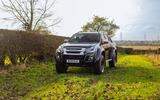 Isuzu D-Max Arctic Trucks 2020 UK first drive review - static front