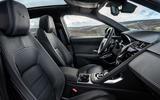 7 Jaguar E Pace P300e 2021 uk first drive review cabin