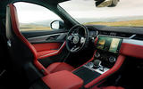 7 Jaguar F Pace 2021 UK first drive review dashboard